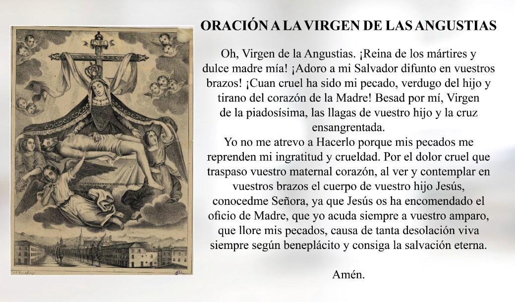 Oración a la Virgen de las Angustias