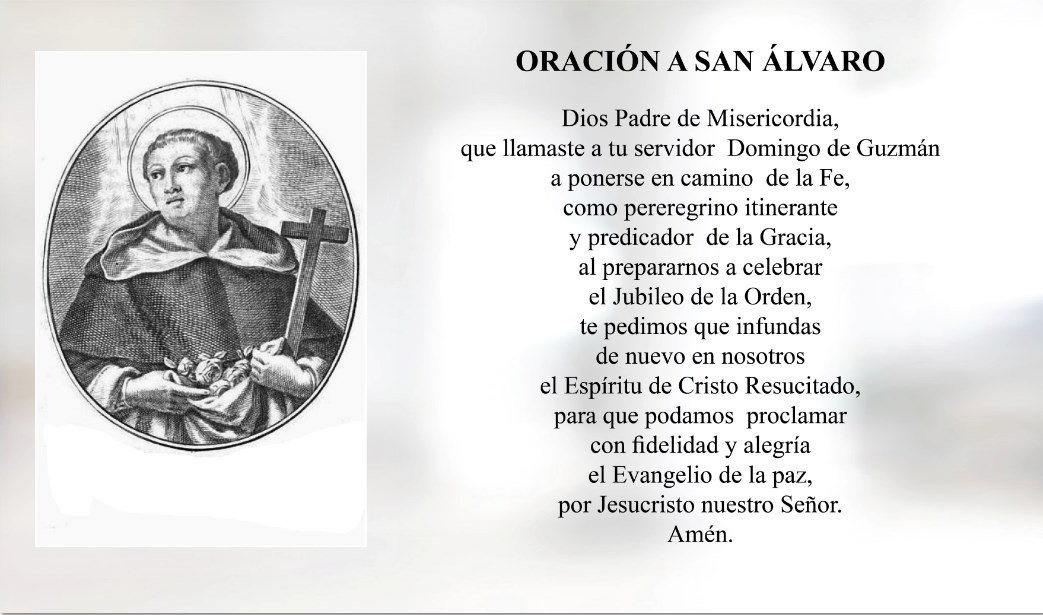 Oración a San Álvaro