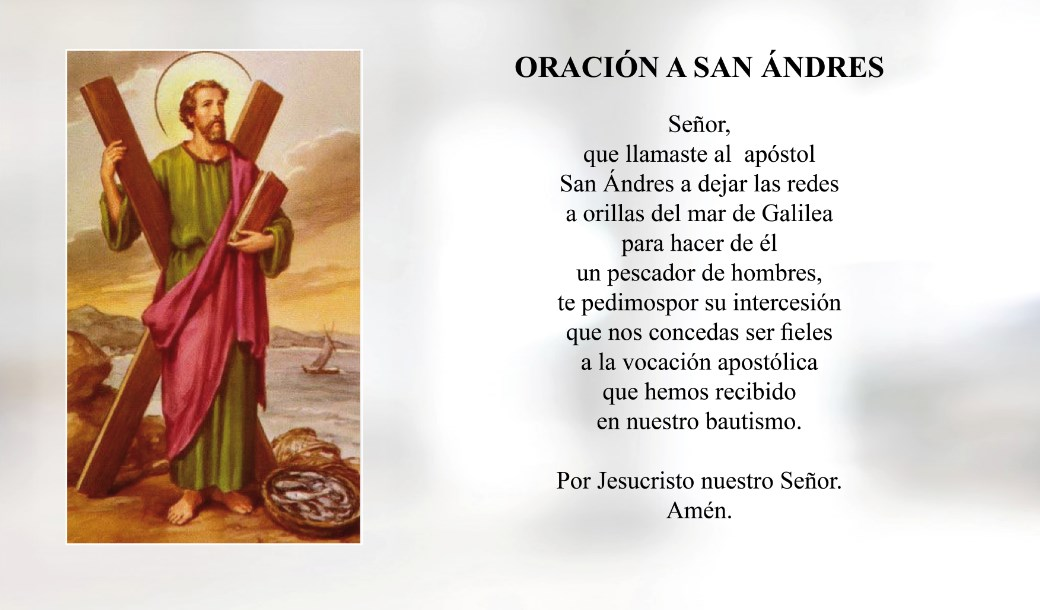 Oración a San Ándres