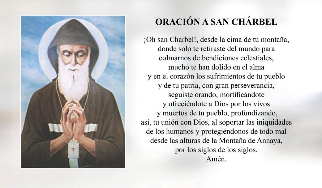 Oración a San Chárbel