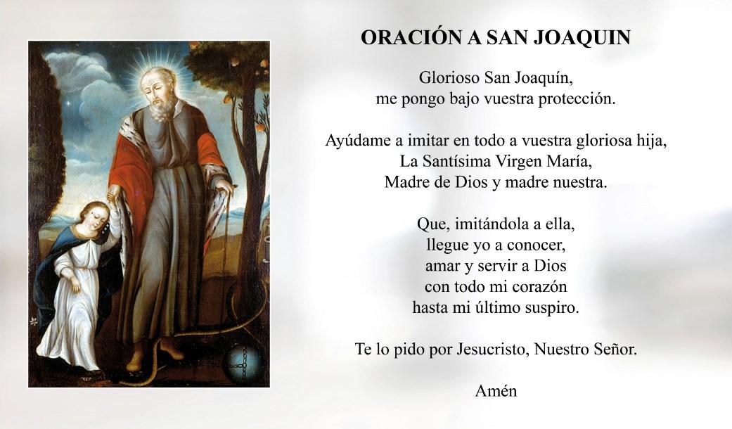 Oración a San Joaquín