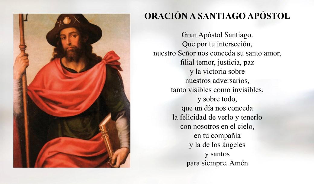 Oración a Santiago Apóstol